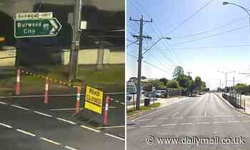 Driver on the run in Melbourne after allegedly crashing stolen car into pole, killing passenger