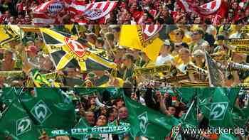 Acht sind aktuell Zweitligisten: Die 18 größten deutschen Klubs