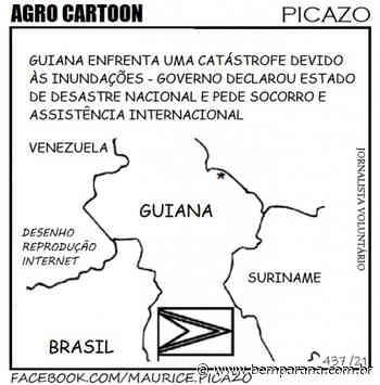 Após tempestades, vento e chuvas torrenciais, Guiana pede socorro internacional - Bem Paraná - Bem Paraná