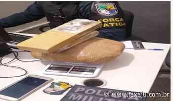 Polícia Militar prende homem por tráfico de drogas em Socorro - Fax Aju