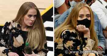 Adele Made A Rare Public Appearance At The NBA Finals Game, And She Looked Stunning - BuzzFeed
