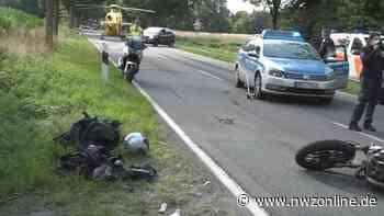 Unfall in Wardenburg: Zwei Schwerverletzte nach Zusammenstoß von Motorradfahrern - Nordwest-Zeitung