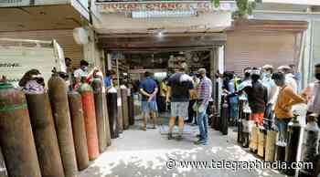 Covid: Govt denies receiving report of deaths due to oxygen crisis - Telegraph India
