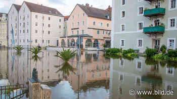 In Bad Reichenhall und Passau - Hochwasserlage entspannt sich etwas - BILD