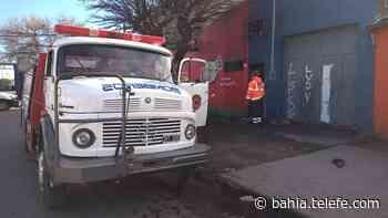 Un incendio provocó pérdidas totales en un comercio de Villa Rosario Sur - Telefe Bahia Blanca