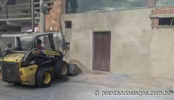 Matérias de obras em vias públicas são apreendidos em Arraial do Cabo - Plantao dos Lagos