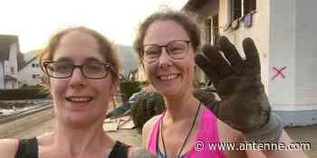 Sandra hilft ihrem Papa nach dem Hochwasser in Altenburg - Antenne Niedersachsen