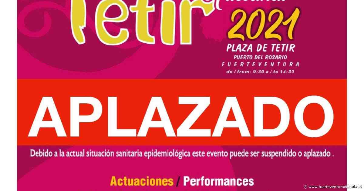 Fuerteventura.- En Puerto del Rosario aplazada edición del 1 de Agosto del Mercado Artesanal de Tetir - Fuerteventura Digital