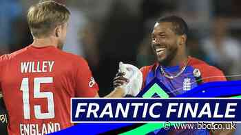 England v Pakistan T20: Watch best moments as England win series at Old Trafford