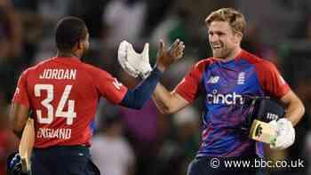 England v Pakistan: Hosts win thrilling T20 series decider at Old Trafford