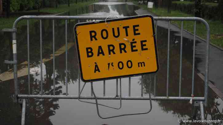 Comines (B) : une délégation est partie aider les sinistrés des inondations - La Voix du Nord