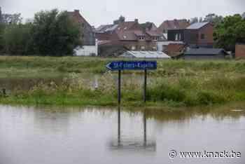 Beersel herademt na wateroverlast van donderdag - Knack.be