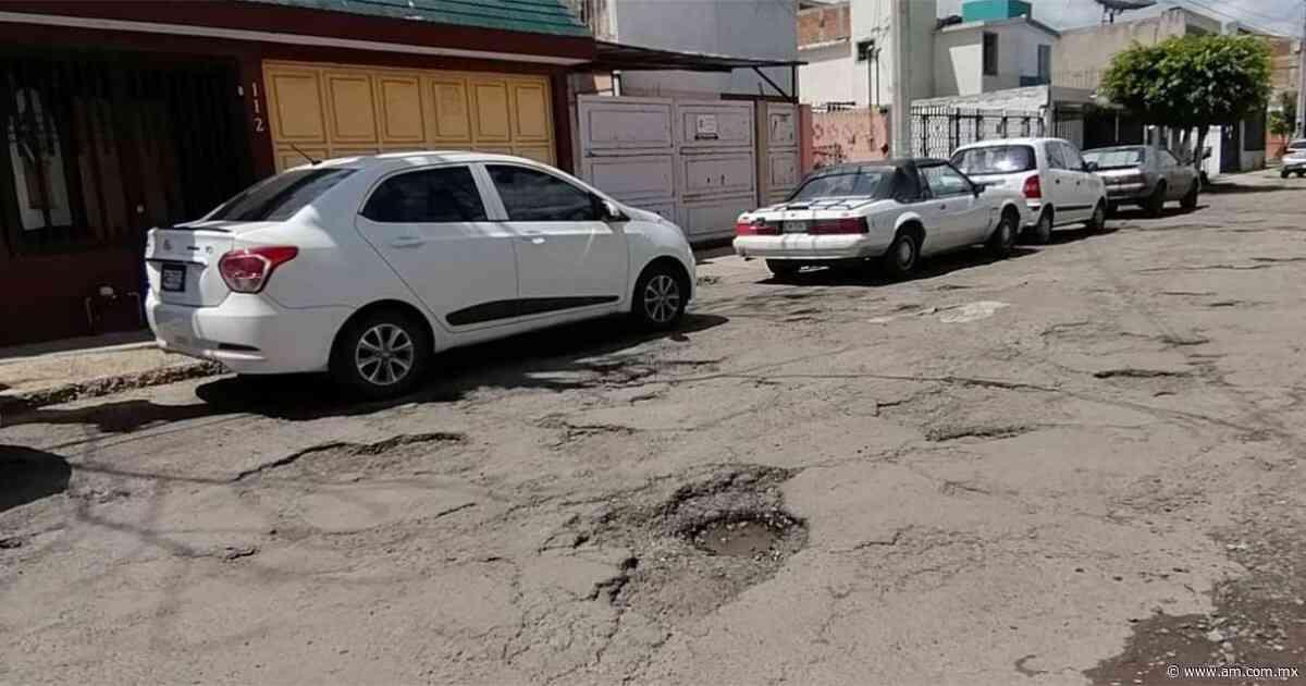 León: Baches son el principal problema de la colonia Los Laureles - Periódico AM