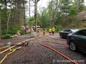 Gravenhurst Calls In Bracebridge Fire To Help Battle Fire - Hunters Bay Radio