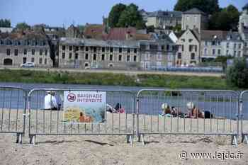 Nevers plage sans baigneurs : le niveau de la Loire trop élevé - Le Journal du Centre