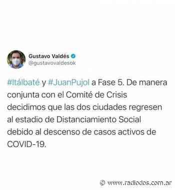 Itá Ibaté y Juan Pujol vuelven a Fase 5 ante el descenso de casos - Radio Dos Corrientes