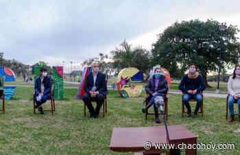 """En el Parque de la Democracia, Rach Quiroga y Pietragalla Corti lanzaron la convocatoria al programa nacional """"juventudes y derechos"""" - ChacoHoy"""