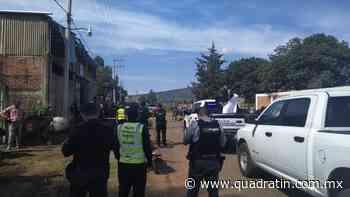 Asesinan a mando policial en Quiroga - Quadratín - Quadratín Michoacán