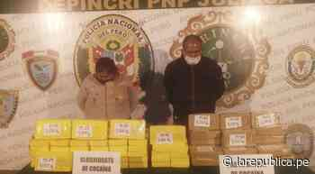 Puno: ordenan prisión preventiva para pareja implicada en tráfico de drogas - LaRepública.pe
