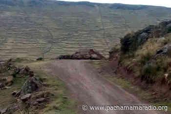 Pobladores de la parte alta de Platería (Puno) piden construcción de puentes - Pachamama radio 850 AM