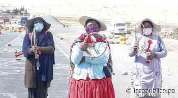 El chicote de las tenientinas en Puno - LaRepública.pe