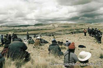 Afectados de la cuenca Suches advierten protesta contra la DREM Puno - Pachamama radio 850 AM