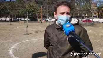 Video | En Concepción disponen burbujas en los espacios públicos para celebrar el Día del Amigo - La Crítica
