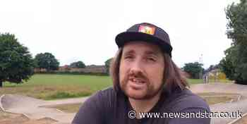 """BMX enthusiast """"disappointed"""" at Carlisle's new track 