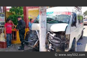 Microbús se accidenta y deja 15 heridos en Coatepeque - Soy502