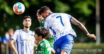 Hertha BSC: Ganz neue Rolle für Davie Selke - Berliner Kurier