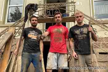 Flutkatastrophe in Hagen: Drei Brüder bekommen Hilfe von alten Rivalen - Ruhr Nachrichten