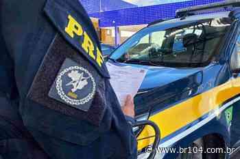 Foragido por não pagar pensão alimentícia é preso em União dos Palmares - BR 104