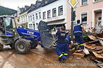 Hochwasser-Helfer aus Leonberg berichten - Das Leid ist unvorstellbar - Leonberger Kreiszeitung
