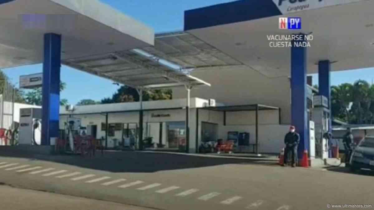 Carapeguá: Asaltantes se llevaron millonario botín de gasolinera - ÚltimaHora.com
