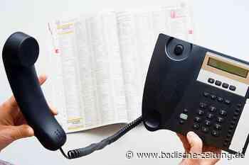 Kabel der Telekom reißt in Waldkirch und kappt auch Internetverbindungen in Glottertal - Glottertal - Badische Zeitung