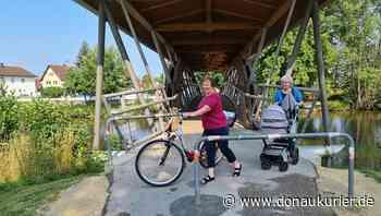 Reichertshofen: Keine freie Fahrt für Radler - Auf dem Paarsteg müssen Zweiräder weiterhin geschoben werden, die Bügel bleiben - donaukurier.de