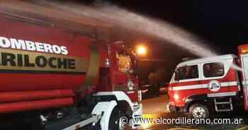 Un incendio destruyó una casilla de madera en el barrio Vivero Municipal - El Cordillerano