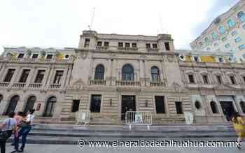 Cercan Palacio Municipal por caída de cantera - El Heraldo de Chihuahua