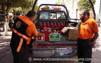 Colocan extintores y medidas de seguridad en presidencia municipal de Lerdo - Noticias del Sol de la Laguna