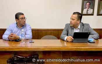 Se reúnen en Delicias presidente municipal electo y alcalde saliente - El Heraldo de Chihuahua