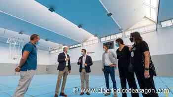 Reabre el pabellón municipal de Casetas tras los trabajos en su cubierta - El Periódico de Aragón