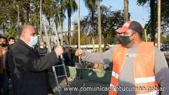 Invierten para remodelar el complejo Polideportivo Municipal - Comunicación Tucumán