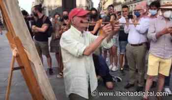 """La policía municipal pide """"los papeles"""" a Antonio López en la Puerta del Sol. El desvalimiento de la desesperanza - Libertad Digital"""