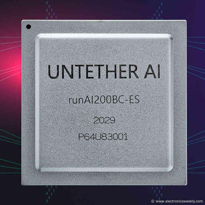 Untether AI raises $125m