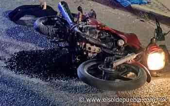 Motociclista acaba muerto en calles de Ajalpan tras ser impactado por auto - El Sol de Puebla