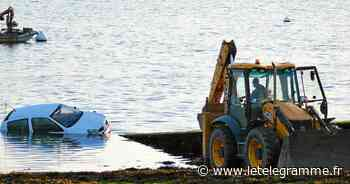 À Plougastel-Daoulas, la mise à l'eau d'un bateau ne se passe pas comme prévu - Le Télégramme