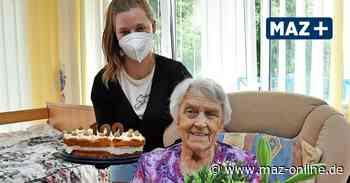 Gerda Dammann aus Wittstock ist 100 Jahre alt - Märkische Allgemeine Zeitung