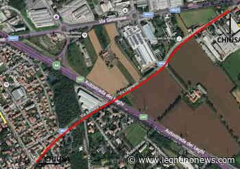 Chiude per due settimane il sottopasso autostradale di via Melzi a Legnano - LegnanoNews.it