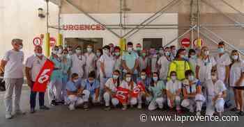 Coup de chaud aux urgences de l'hôpital d'Aix-Pertuis - La Provence