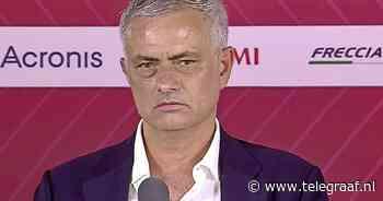 José Mourinho zet drones in bij trainingen AS Roma - Telegraaf.nl